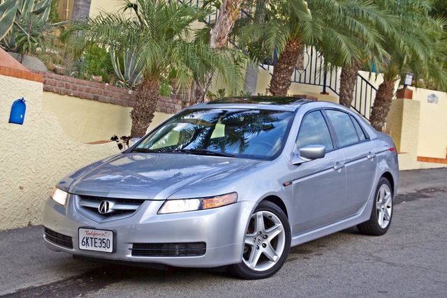 2005 Acura TL SEDAN ONLY 73K MLS NAVIGATION XENON 1-OWNER SERVICE RECORDS SUNROOF LEATHER Woodland Hills, CA 1