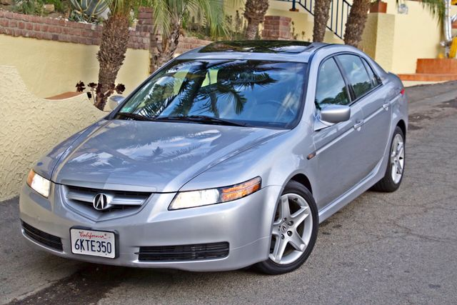 2005 Acura TL SEDAN ONLY 73K MLS NAVIGATION XENON 1-OWNER SERVICE RECORDS SUNROOF LEATHER Woodland Hills, CA 2