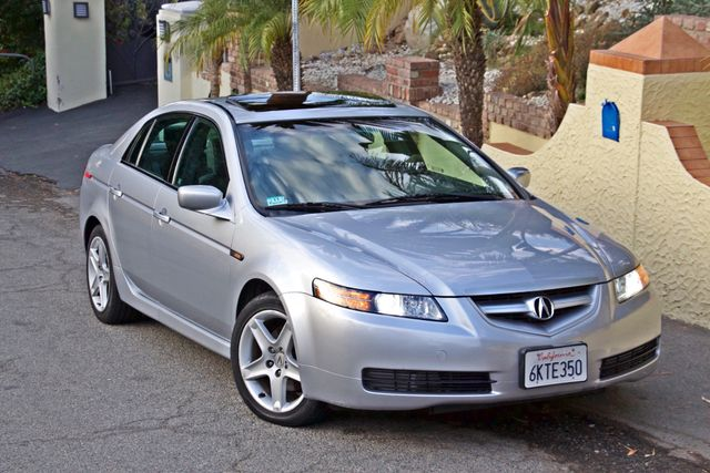 2005 Acura TL SEDAN ONLY 73K MLS NAVIGATION XENON 1-OWNER SERVICE RECORDS SUNROOF LEATHER Woodland Hills, CA 4