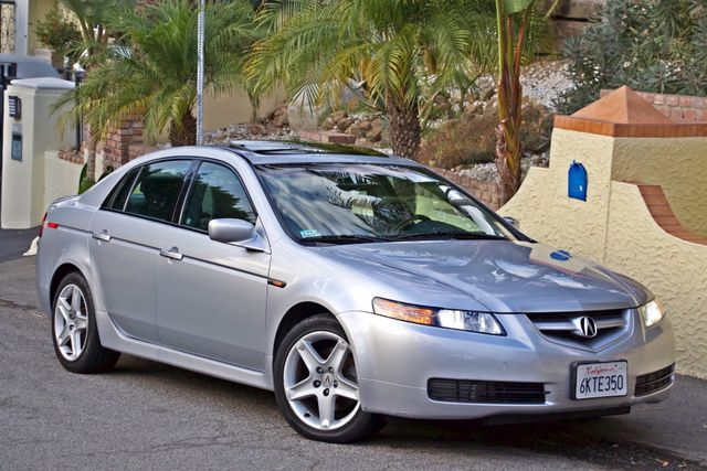 2005 Acura TL SEDAN ONLY 73K MLS NAVIGATION XENON 1-OWNER SERVICE RECORDS SUNROOF LEATHER Woodland Hills, CA 5