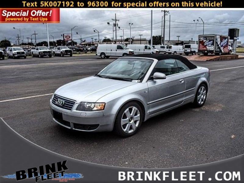 2005 Audi A4 Convertible 3.0L | Lubbock, TX | Brink Fleet in Lubbock TX