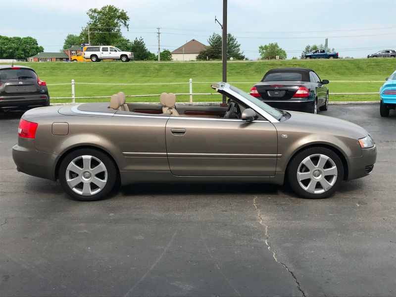2005 Audi A4 Convertible   St Charles Missouri  Schroeder Motors  in St. Charles, Missouri