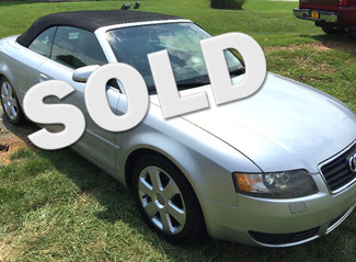 2005 Audi-30 Mpg Hwy! Low Miles!! A4-CONVERTIBLE!! 1.8T--2 OWNER CLEAN CARFAX- Knoxville, Tennessee