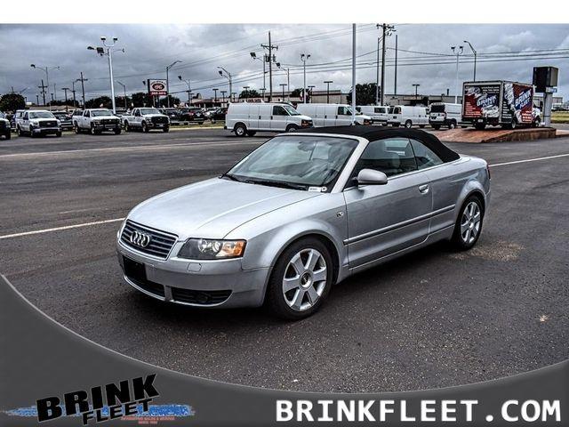 2005 Audi A4 3.0L | Lubbock, TX | Brink Fleet in Lubbock TX