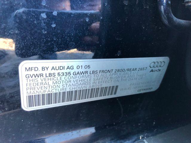2005 Audi A6 Quattro AWD Sterling, Virginia 37