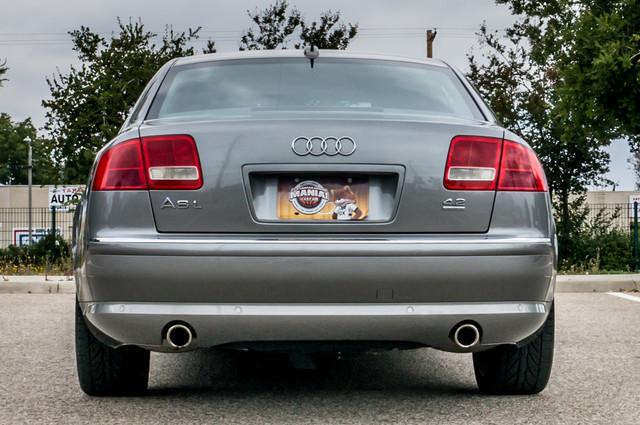 2005 Audi A8 L  AUTO - 73K MILES - NAVI - SPORT PKG - XENON Reseda, CA 8
