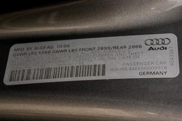 2005 Audi A8 L  AUTO - 73K MILES - NAVI - SPORT PKG - XENON Reseda, CA 40