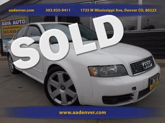 2005 Audi S4  | Denver, CO | A&A Automotive of Denver in Denver, Littleton, Englewood, Aurora, Lakewood, Morrison, Brighton, Fort Lupton, Longmont, Montbello, Commerece City CO