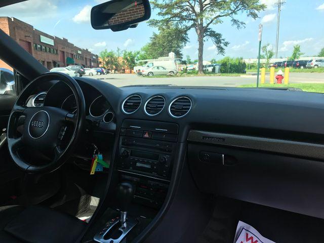 2005 Audi S4 QUATTRO CABRIOLET Leesburg, Virginia 23