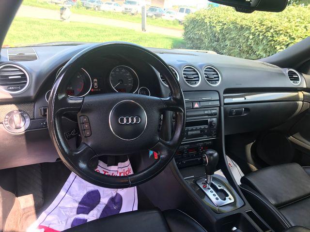 2005 Audi S4 QUATTRO CABRIOLET Leesburg, Virginia 24