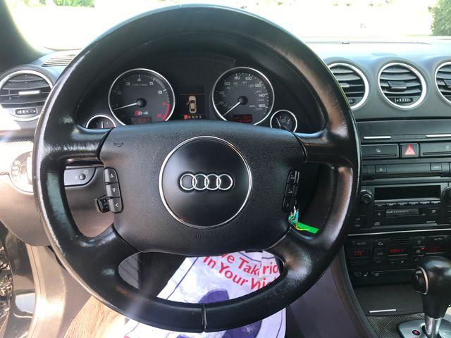 2005 Audi S4 QUATTRO CABRIOLET Leesburg, Virginia 25