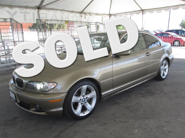 2005 BMW 325Ci Please call or e-mail to check availability All of our vehicles are available fo