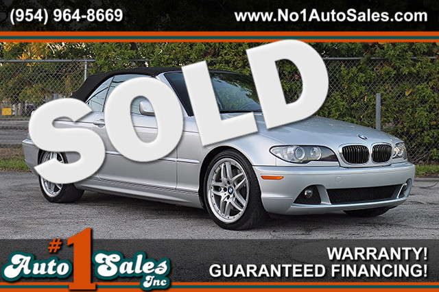 2005 BMW 330Ci  WARRANTY CARFAX CERTIFIED ONE OWNER 18 SERVICE RECORDS TRADES WELCOME