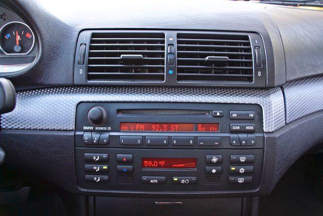 2005 BMW 330Ci ZHP PREFORMANCE PKG 72K MLS AUTOMATIC XENON ALLOY WHLS LEATHER Woodland Hills, CA 25