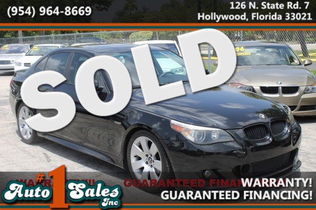 2005 BMW 530i  WARRANTY 2 OWNERS  9 SERVICE RECORDS  FLORIDA VEHICLE Trustworthy and wor