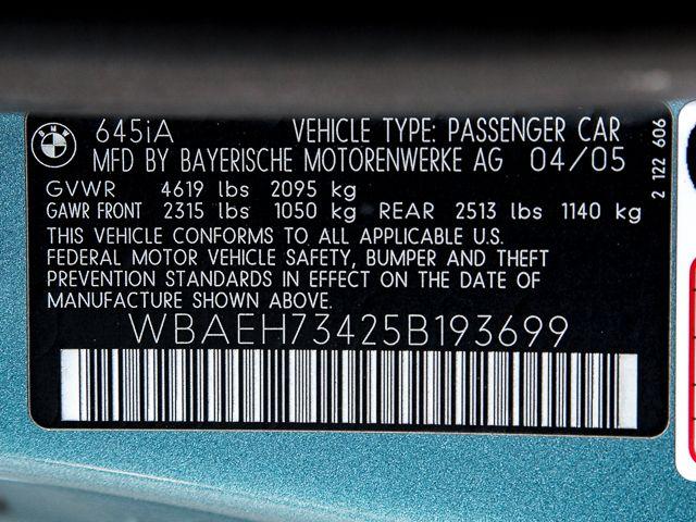 2005 BMW 645Ci Burbank, CA 9
