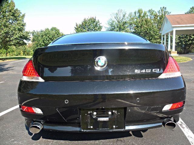 2005 BMW 645Ci Leesburg, Virginia 8