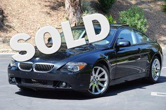 2005 BMW 645Ci  SPORT PKG - 93K MILES - NAVI - BLACK/BLACK Reseda, CA