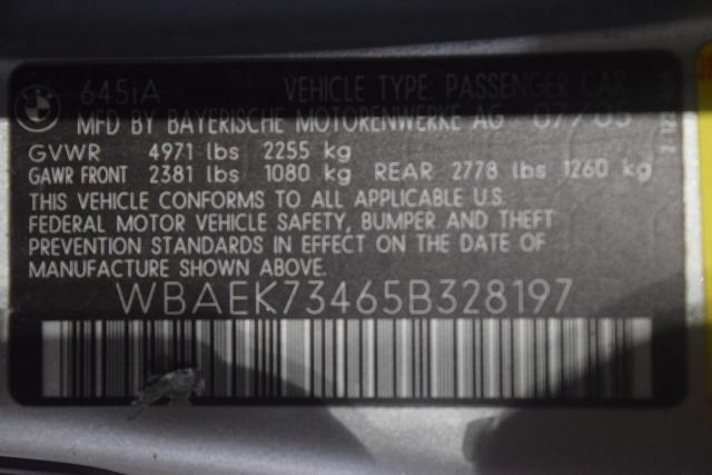 2005 BMW 645Ci 645Ci 2dr Convertible Richmond Hill, New York 12