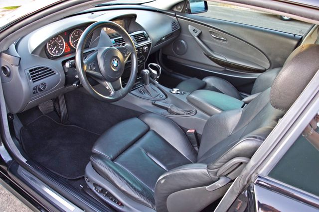 2005 BMW 645Ci SPORTS PKG ALLOY WHLS XENON ONLY 71K MLS SALVAGE Woodland Hills, CA 13