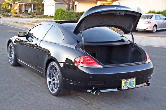 2005 BMW 645Ci SPORTS PKG ALLOY WHLS XENON ONLY 71K MLS SALVAGE Woodland Hills, CA 11