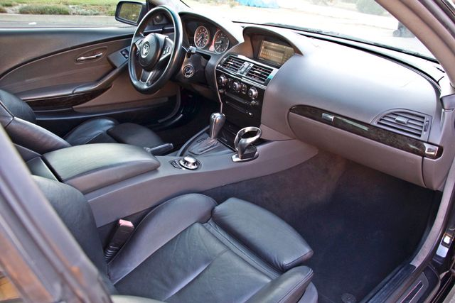 2005 BMW 645Ci SPORTS PKG ALLOY WHLS XENON ONLY 71K MLS SALVAGE Woodland Hills, CA 21