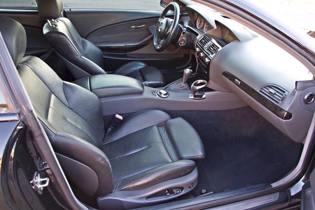 2005 BMW 645Ci SPORTS PKG ALLOY WHLS XENON ONLY 71K MLS SALVAGE Woodland Hills, CA 22