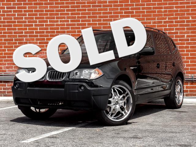 2005 BMW X3 2.5i Burbank, CA 0