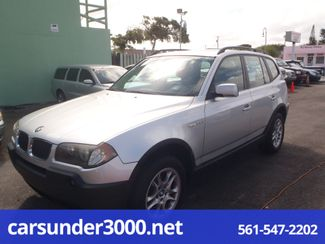 2005 BMW X3 2.5i Lake Worth , Florida