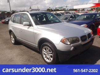 2005 BMW X3 2.5i Lake Worth , Florida 1