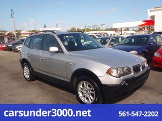 2005 BMW X3 2.5i Lake Worth , Florida 2