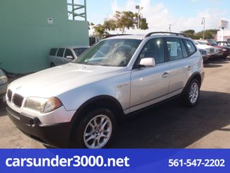 2005 BMW X3 2.5i Lake Worth , Florida 8