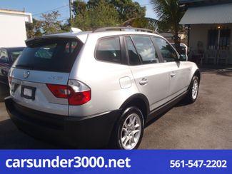 2005 BMW X3 2.5i Lake Worth , Florida 3