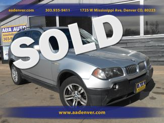 2005 BMW X3 3.0i AWD | Denver, CO | A&A Automotive of Denver in Denver, Littleton, Englewood, Aurora, Lakewood, Morrison, Brighton, Fort Lupton, Longmont, Montbello, Commerece City CO