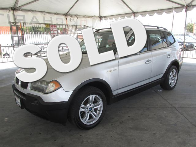 2005 BMW X3 30i Please call or e-mail to check availability All of our vehicles are available