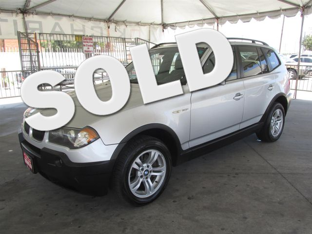 2005 BMW X3 30i This particular vehicle has a SALVAGE title Please call or email to check availa