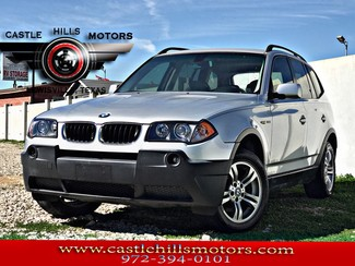 2005 BMW X3 3.0i **INCLUDES 2 YRS FREE MAINTENANCE** Leather, Premium Pkg, AWD in Lewisville Texas