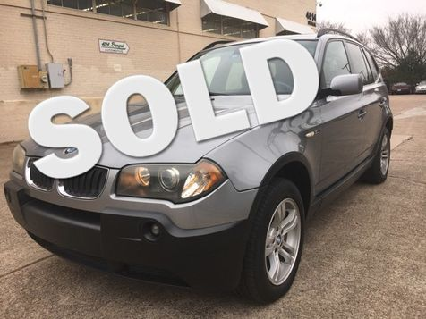 2005 BMW X3   in Dallas