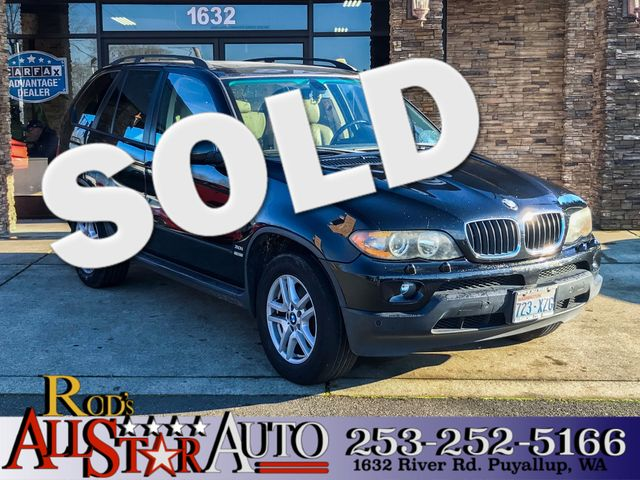 2005 BMW X5 30i AWD The CARFAX Buy Back Guarantee that comes with this vehicle means that you can
