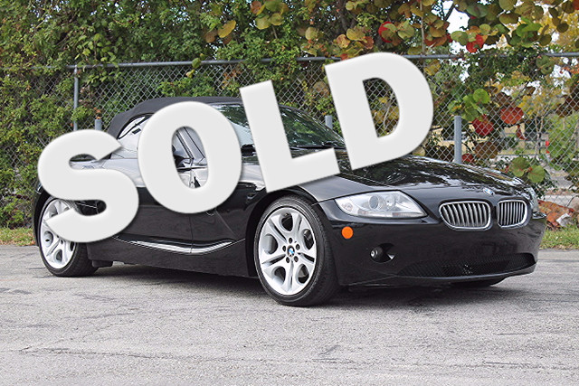 2005 BMW Z4 30i  WARRANTY CARFAX CERTIFIED FLORIDA VEHICLE TRADES WELCOME  The Ultimat