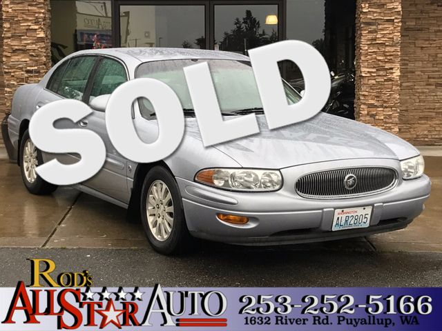 2005 Buick LeSabre Limited The CARFAX Buy Back Guarantee that comes with this vehicle means that y