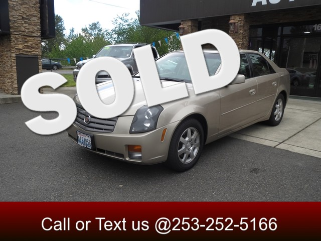 2005 Cadillac CTS The CARFAX Buy Back Guarantee that comes with this vehicle means that you can bu