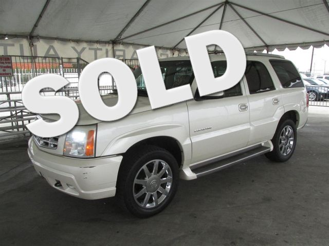 2005 Cadillac Escalade This particular Vehicle comes with 3rd Row Seat Please call or e-mail to c