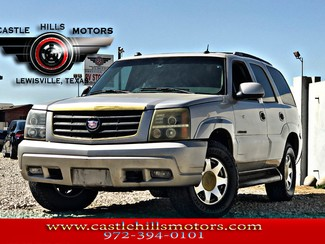 2005 Cadillac Escalade  **INCLUDES 2 YRS FREE MAINTENANCE** AWD, Leather, 3rd Row, Tow! | Lewisville, Texas | Castle Hills Motors in Lewisville Texas
