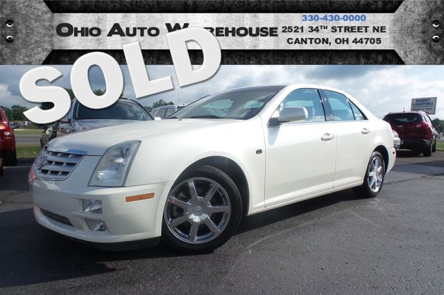 2005 Cadillac STS V8 Sunroof 75K LOW MILES Leather We Finance | Canton, Ohio | Ohio Auto Warehouse LLC in Canton Ohio