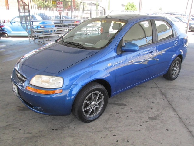 2005 Chevrolet Aveo LS Please call or e-mail to check availability All of our vehicles are avai