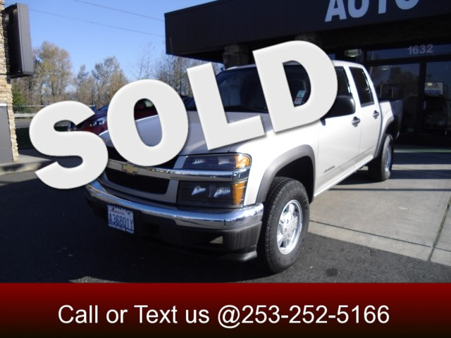 2005 Chevrolet Colorado LS Z85 4WD This Colorado crew cab 4x4 comes equipped with a Vortec 35 lite