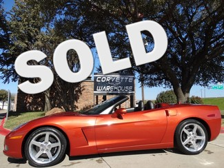 2005 Chevrolet Corvette Convertible 3LT, NAV, Power Top, Auto, Only 54k! Dallas, Texas