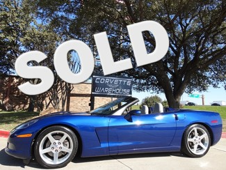 2005 Chevrolet Corvette Convertible 3LT, F55, Auto, Polished Wheels, 97k! Dallas, Texas
