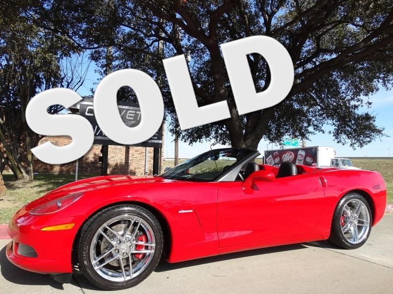 2005 Chevrolet Corvette Convertible 3LT, F55, NAV, Z06 Chromes, Auto, 76k!